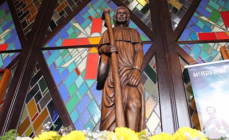 Paróquia São Roque dá início às visitas do Padroeiro às comunidades, em preparação à 65ª Festa
