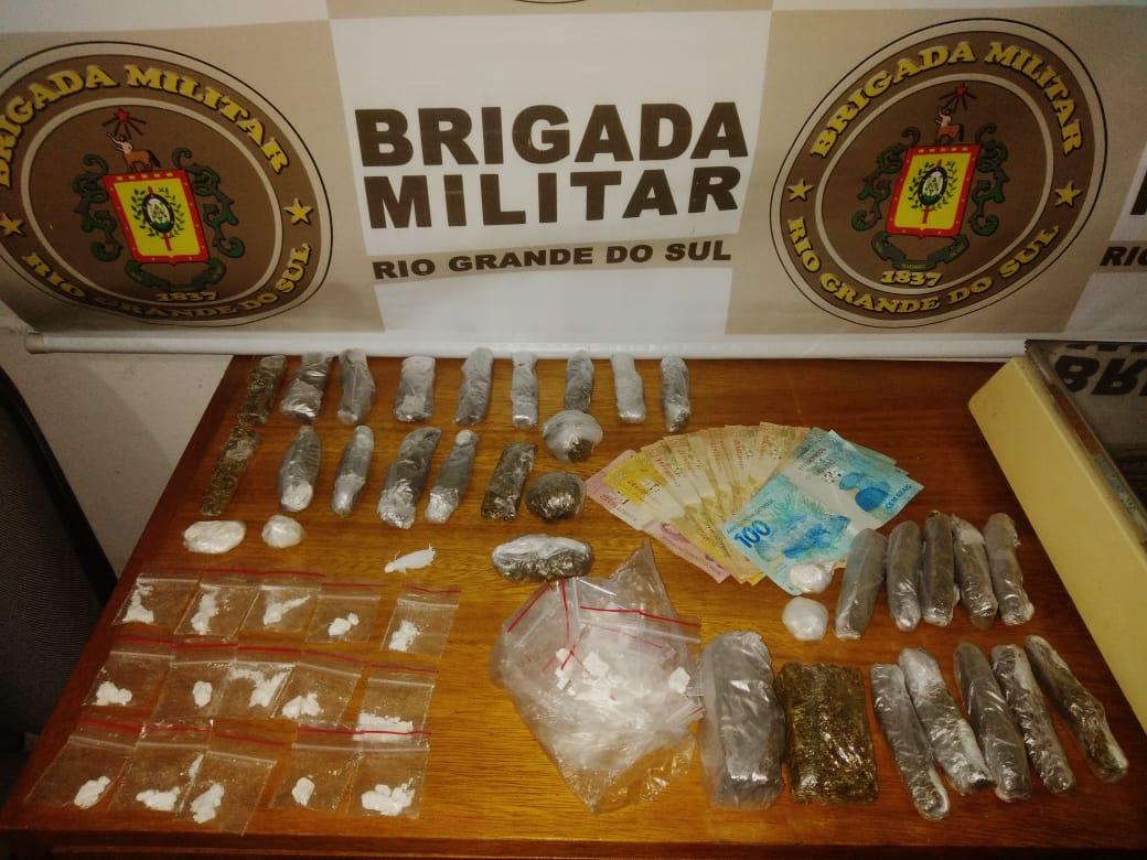 Brigada Militar prende mais um traficante em Gramado