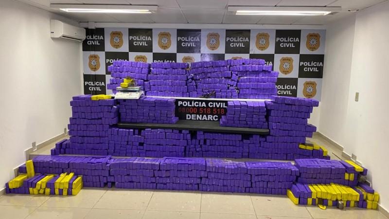 Maior apreensão de maconha no RS em 2021 é efetuada pela Polícia Civil