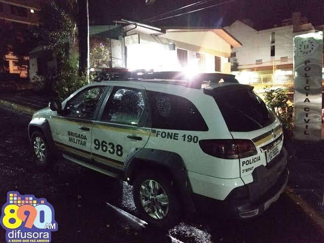 Brigada Militar atende ocorrência de violência doméstica com lesões no Zatt, em Bento