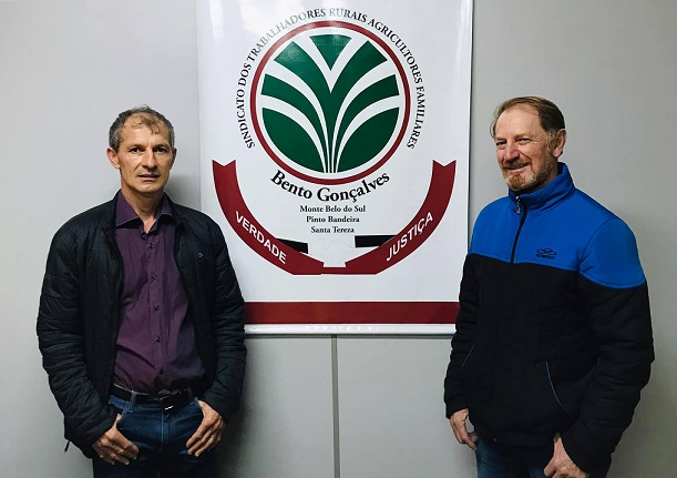 Cedenir Postal é reeleito presidente do Sindicato dos Trabalhadores Rurais de Bento Gonçalves