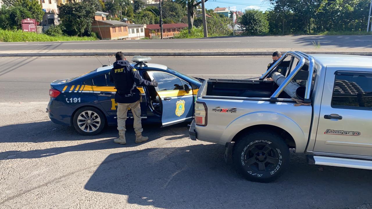 PRF prende criminoso foragido em Bento Gonçalves