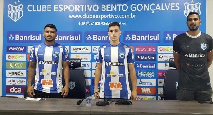 Clube Esportivo anuncia três novos reforços para a Série D
