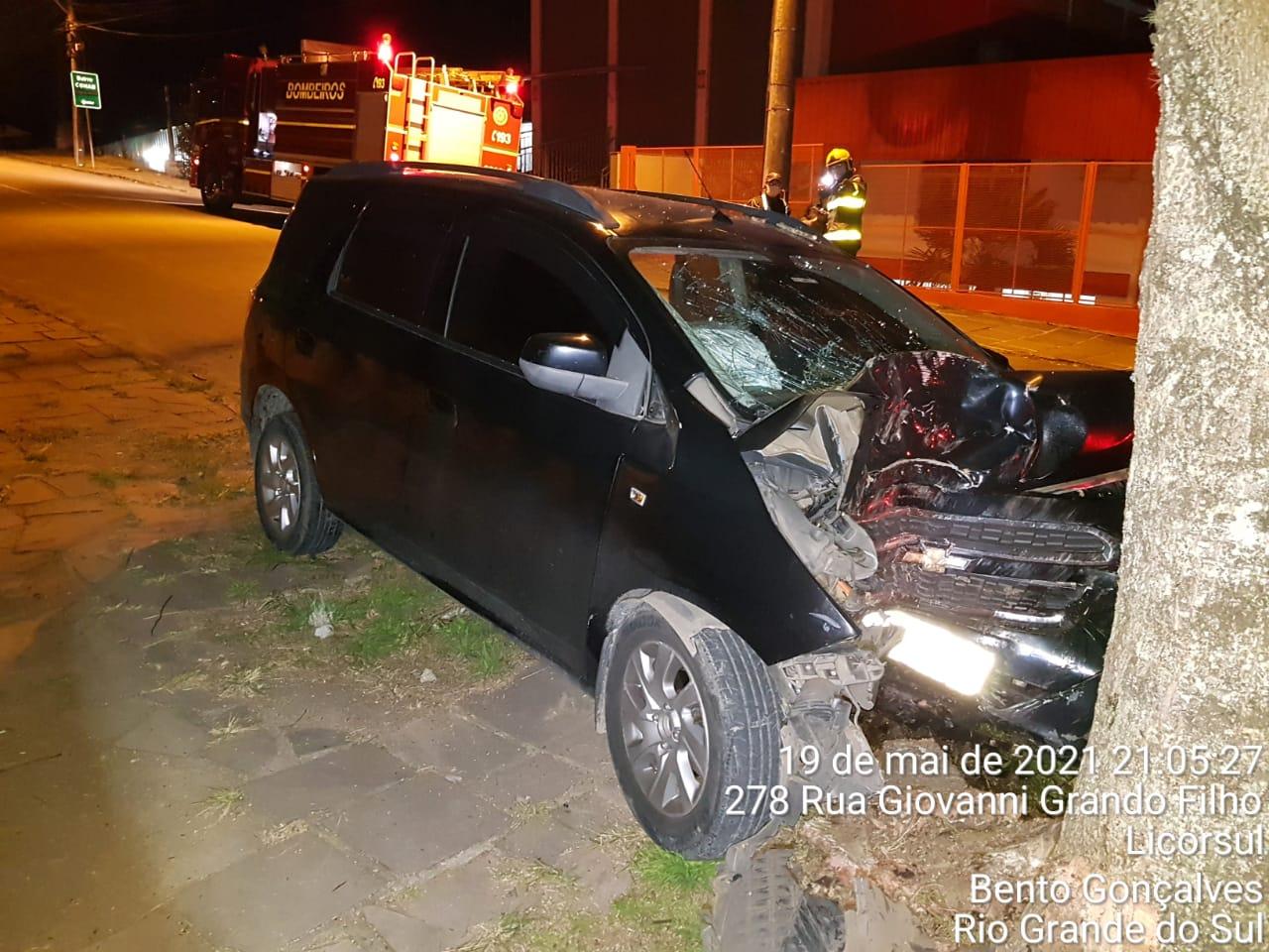 Homem fica ferido em acidente no Vila Nova, em Bento