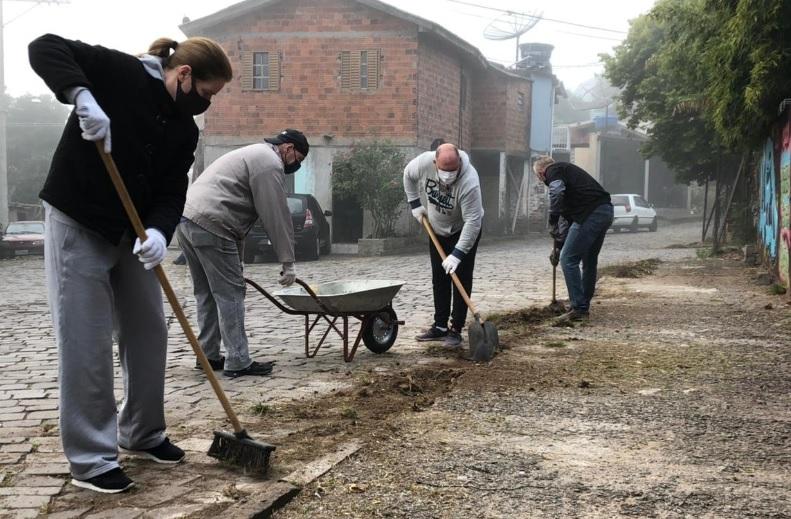 Prefeitura no bairro chega ao Maria Goretti em Bento