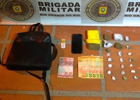 Mulher é presa por tráfico de drogas em Bento