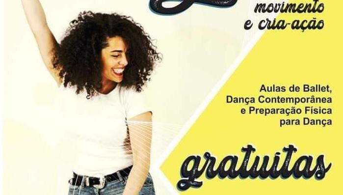 Projeto Dança: Movimento e Cria-ação retoma as atividades em Bento