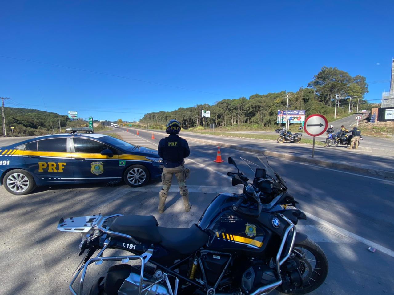 Feriado ficou marcado pela Operação Rota Segura na Serra Gaúcha