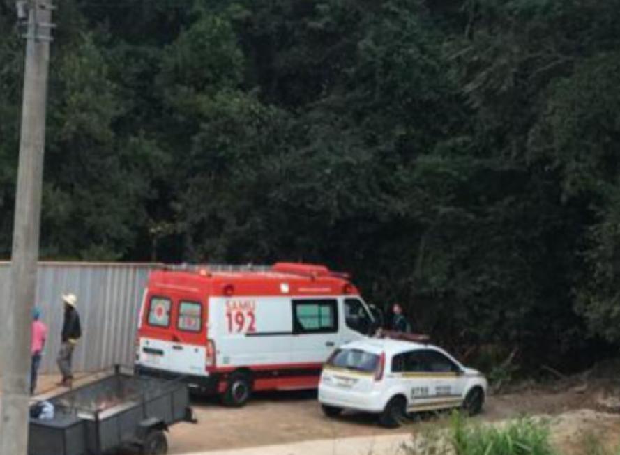 Cadáver é localizado no bairro Humaitá em Bento