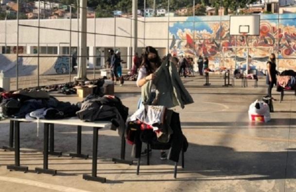 Bento: Campanha do Agasalho realiza doações no bairro Nossa Senhora da Saúde