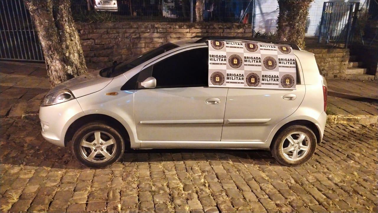 Casal de Bento é preso por tentativa de estelionato em Nova Prata