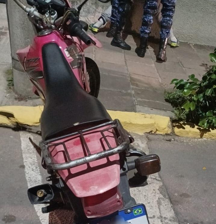 Grupo Tático de Motos da GCM prende homem por adulteração de veículo em Bento