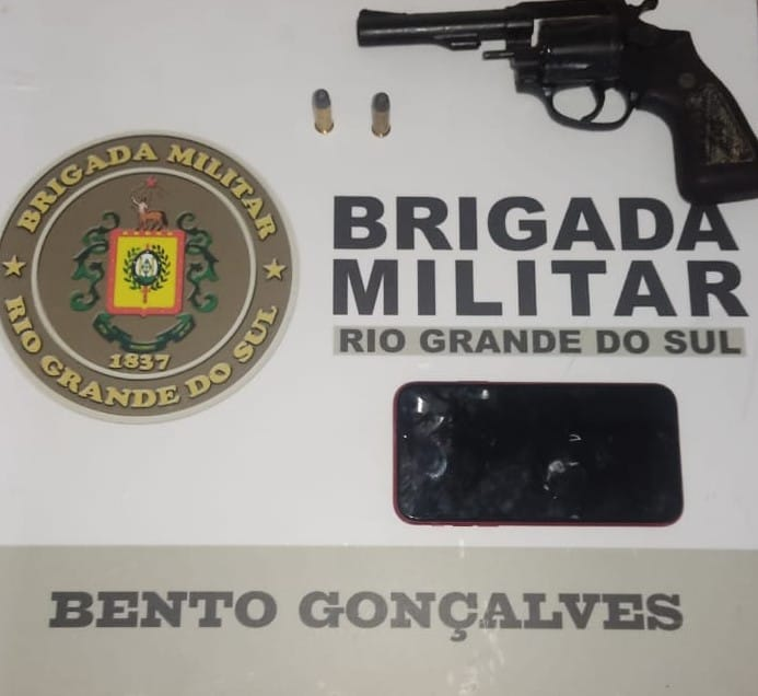 Força Tática prende homem por porte ilegal de arma de fogo no Progresso, em Bento