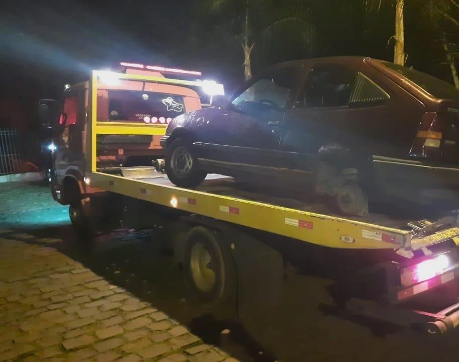 GCM recupera veículo furtado em Bento Gonçalves