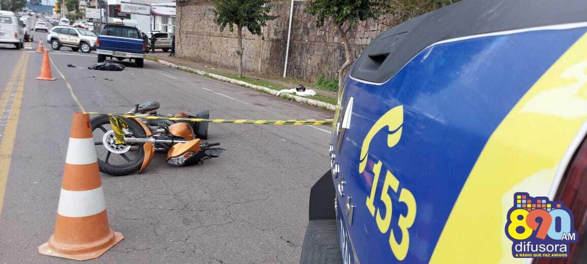 Homem morre em acidente de trânsito no bairro Fenavinho, em Bento