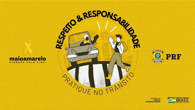Maio Amarelo: PRF finaliza campanha atingindo mais de 3,4 milhões de pessoas