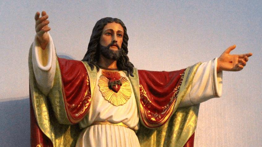 Imagem do Sagrado Coração de Jesus retorna ao Santuário de Caravaggio após restauração