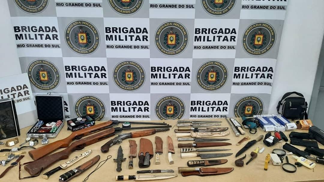 Homem é preso por porte ilegal de arma de fogo em Vacaria
