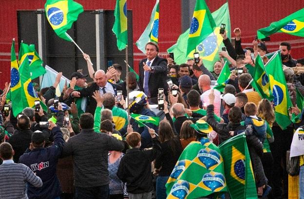 Presidente Bolsonaro cumpre agenda em Bento Gonçalves