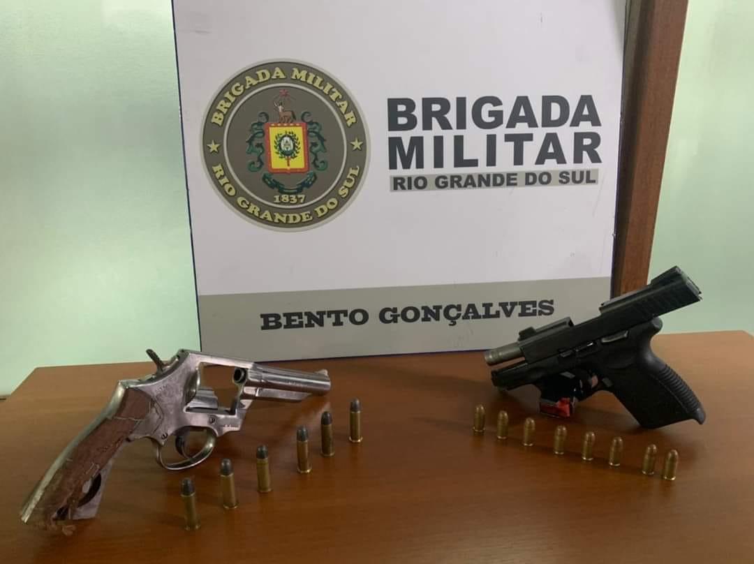 Em ação rápida, Brigada Militar prende autores de homicídio em Carlos Barbosa