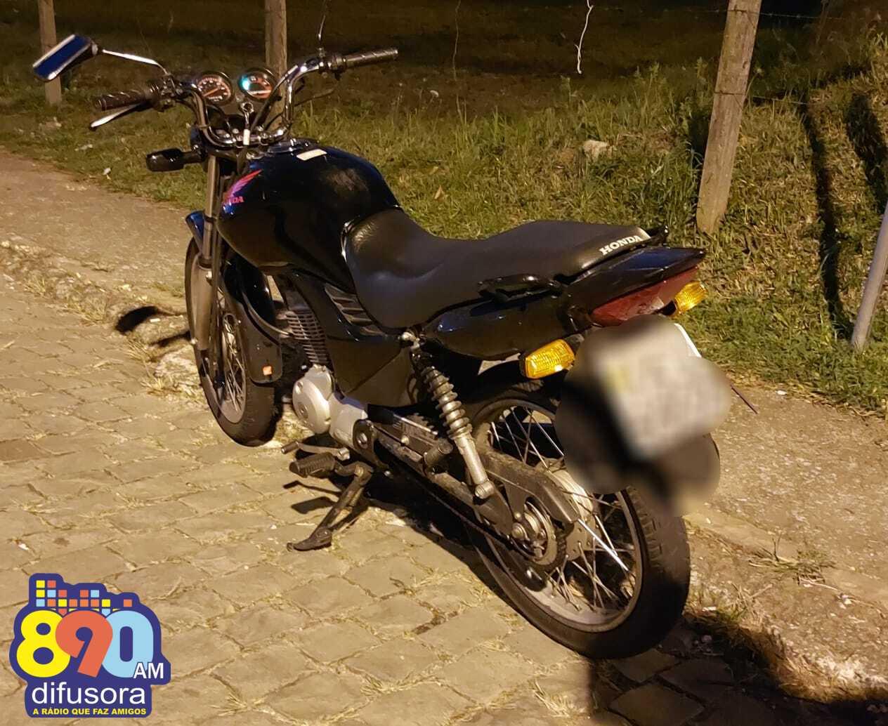 Motociclista fica ferido em acidente no bairro Universitário, em Bento