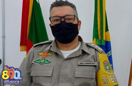 3º Batalhão Rodoviário da Brigada Militar possui novo comandante