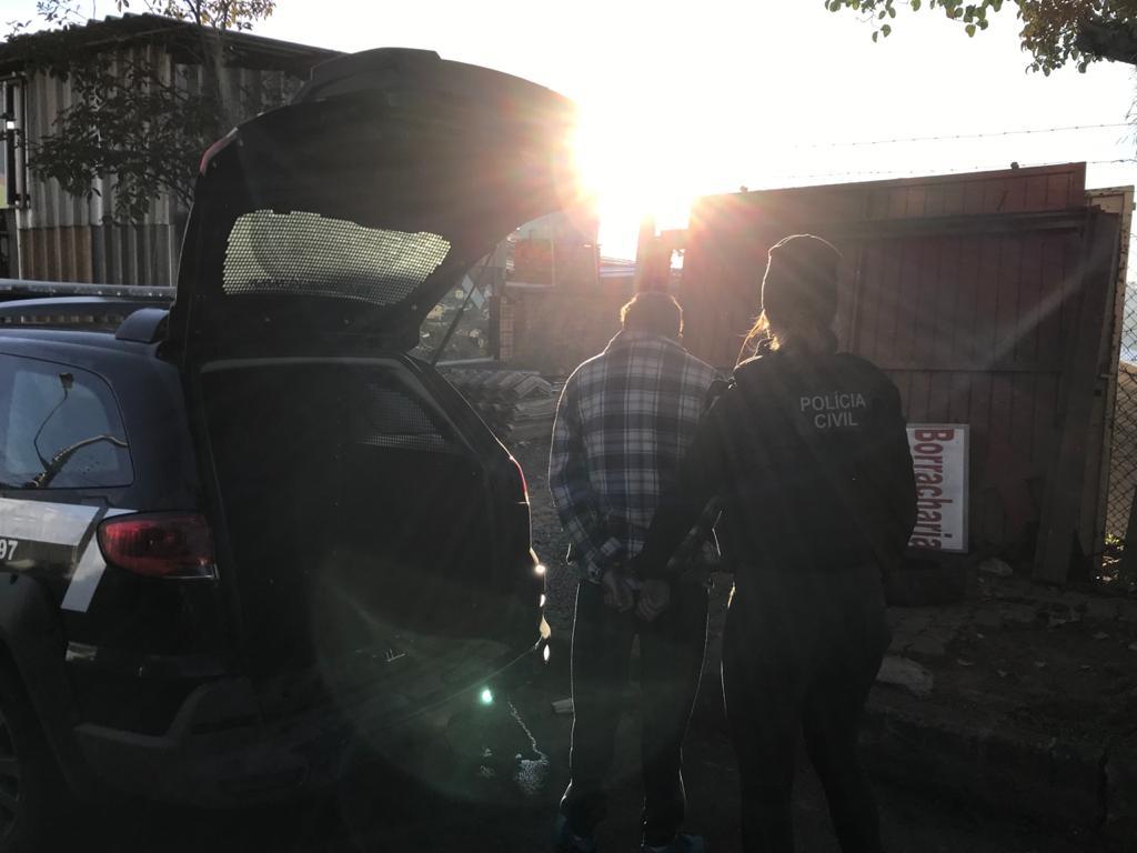 Suspeito de dupla tentativa de homicídio é preso em Caxias do Sul