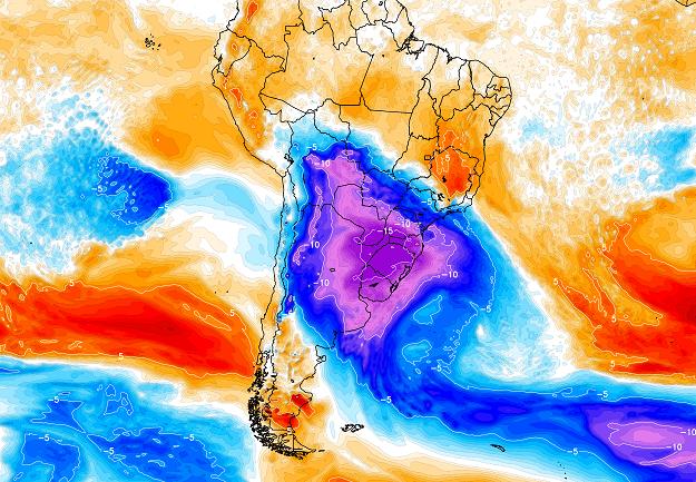 Onda de frio pode ser uma das mais intensas neste século no Brasil
