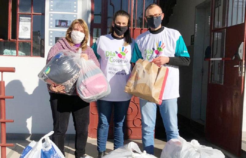 Dia C da Cooperativa Vinícola Garibaldi arrecada 250 kg de alimentos