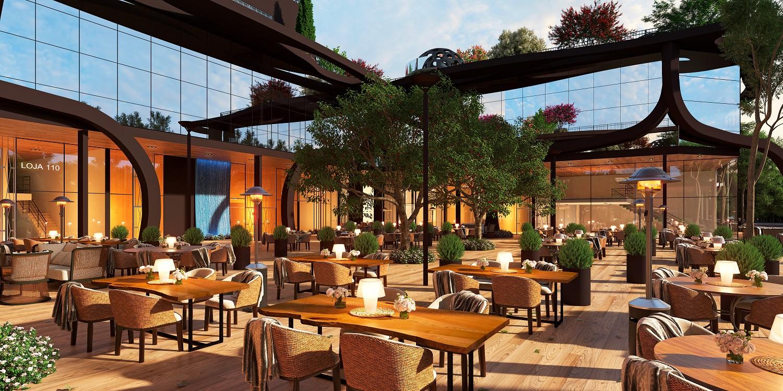 Viverone Garden – Um garden aberto e em curvas no meio da cidade