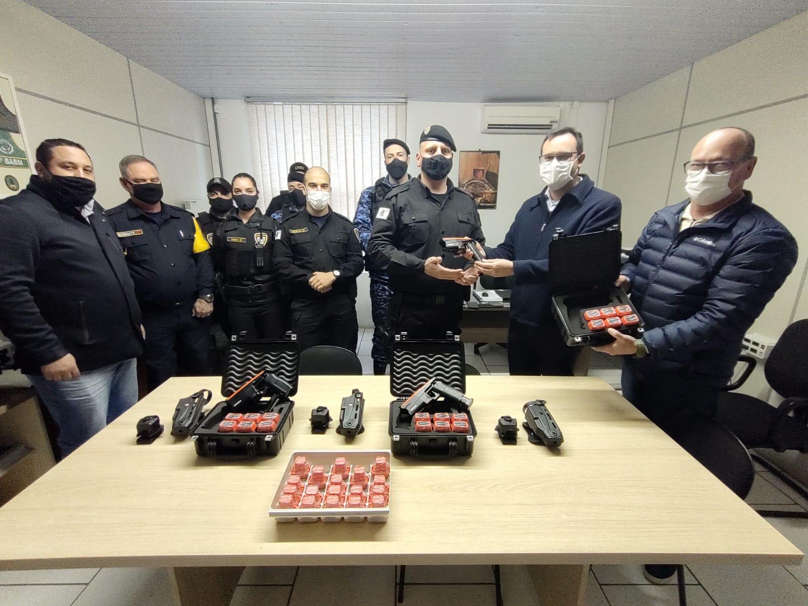 Guarda Civil Municipal recebe novos equipamentos