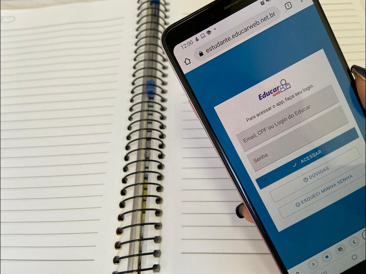 12 mil alunos e professores contarão com internet móvel gratuita em Bento