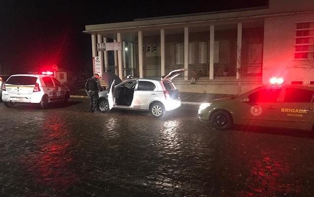Brigada Militar apreende veículo adulterado em Guaporé