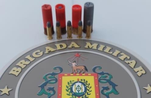 Força Tática prende homem por porte ilegal de munição no Fátima em Bento