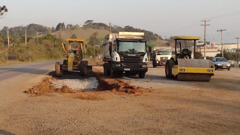 EGR começa obra de acesso ao Distrito Industrial no município de Guaporé