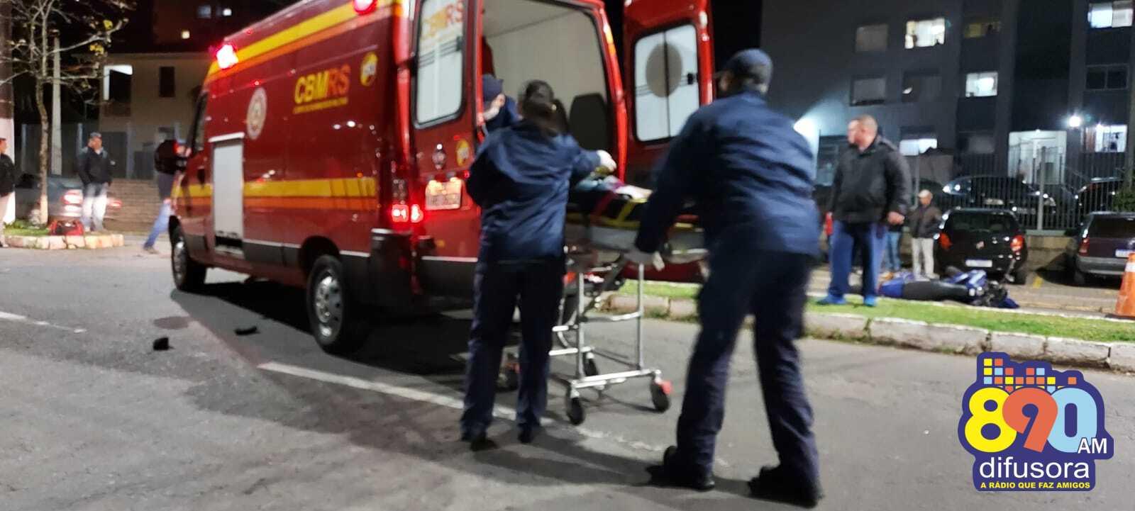 Motociclista morre em acidente no bairro São Roque, em Bento
