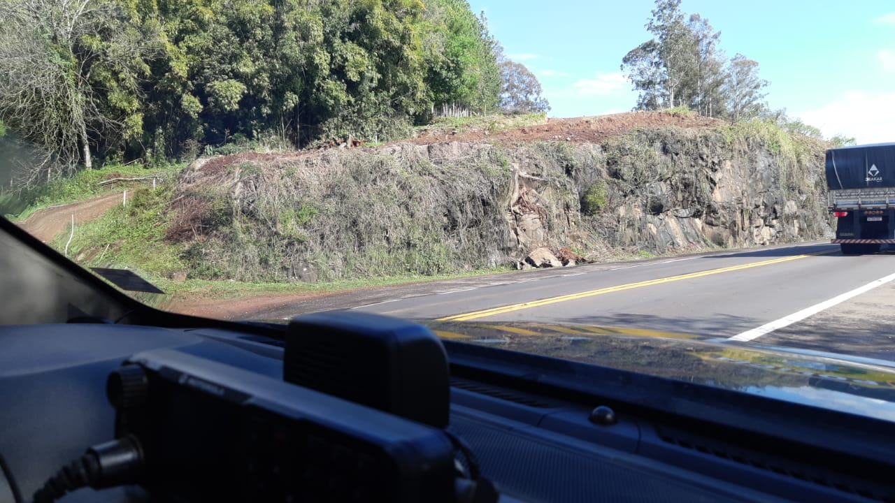 PRF alerta para bloqueios de pista na BR 386 entre Marques de Souza e Lajeado