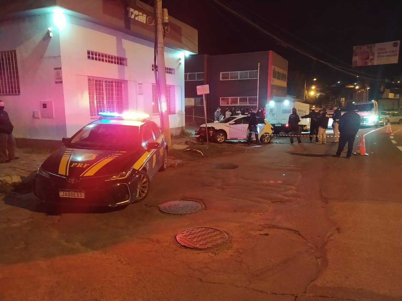 Três jovens morrem em acidente na BR-116, em Caxias do Sul