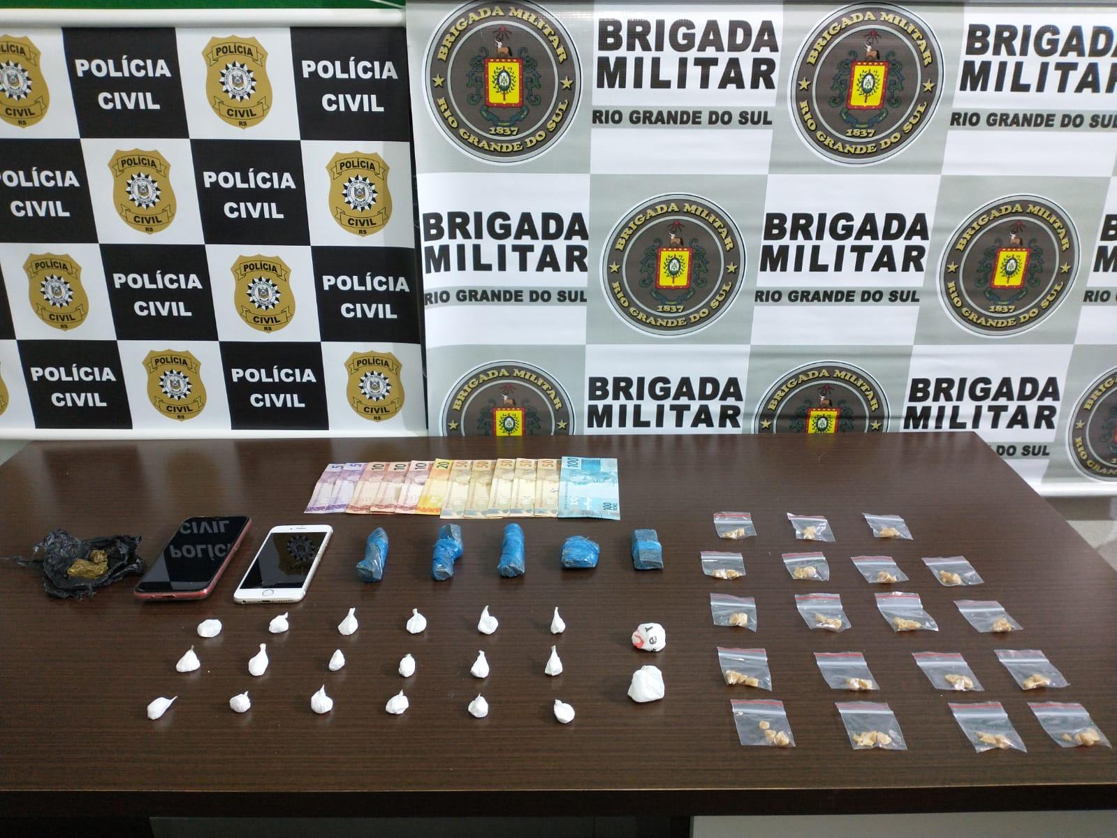 """Brigada Militar e Policia Civil realizam a """"Operação Pintor"""" em Veranópolis"""