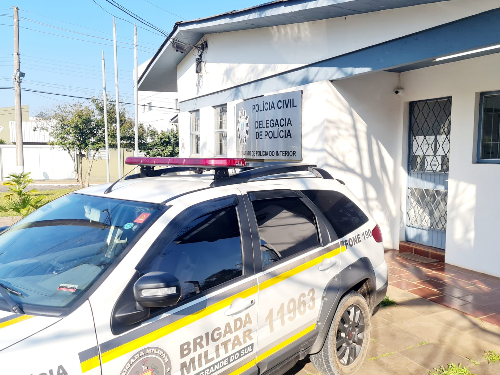 Foragido da Justiça é recapturado pela Brigada Militar em Guaporé