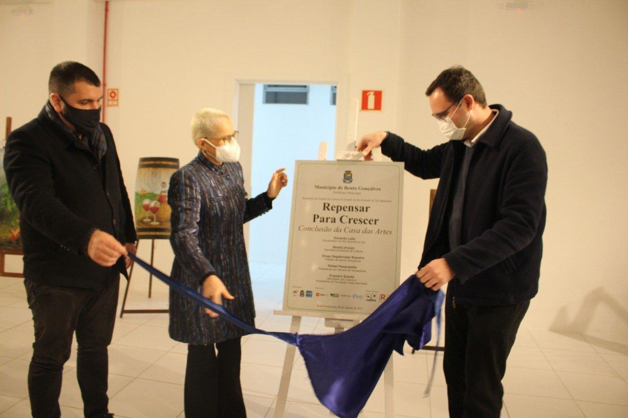 Sala multiuso e camarins da Fundação Casa das Artes são inaugurados