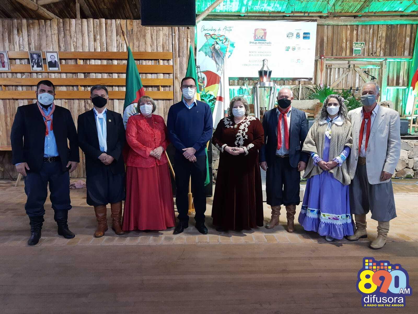 Festejos Farroupilhas são abertos oficialmente em Bento Gonçalves