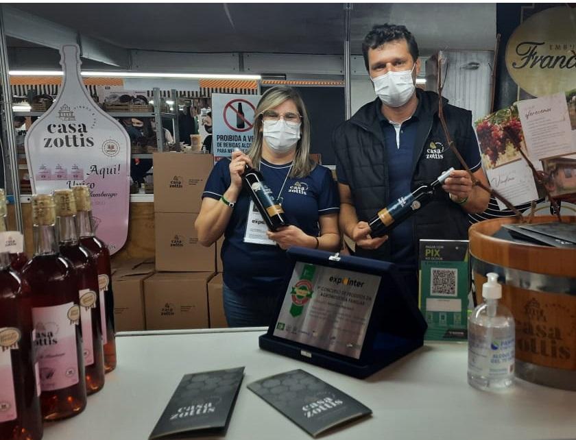 Agroindústria familiar: Casa Zottis é premiada com o 1º lugar em concurso na Expointer