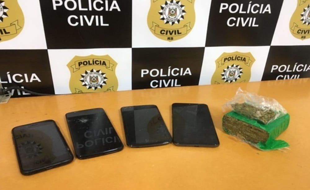 Menores são apreendidos em ponto de tráfico de drogas em Carlos Barbosa