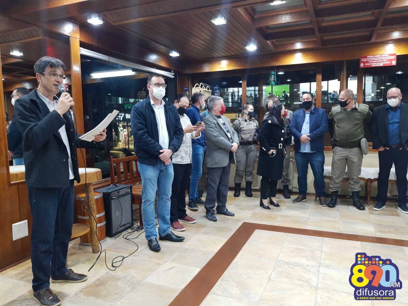 Evento marca a abertura oficial do 3º Festival de Balonismo de Bento Gonçalves