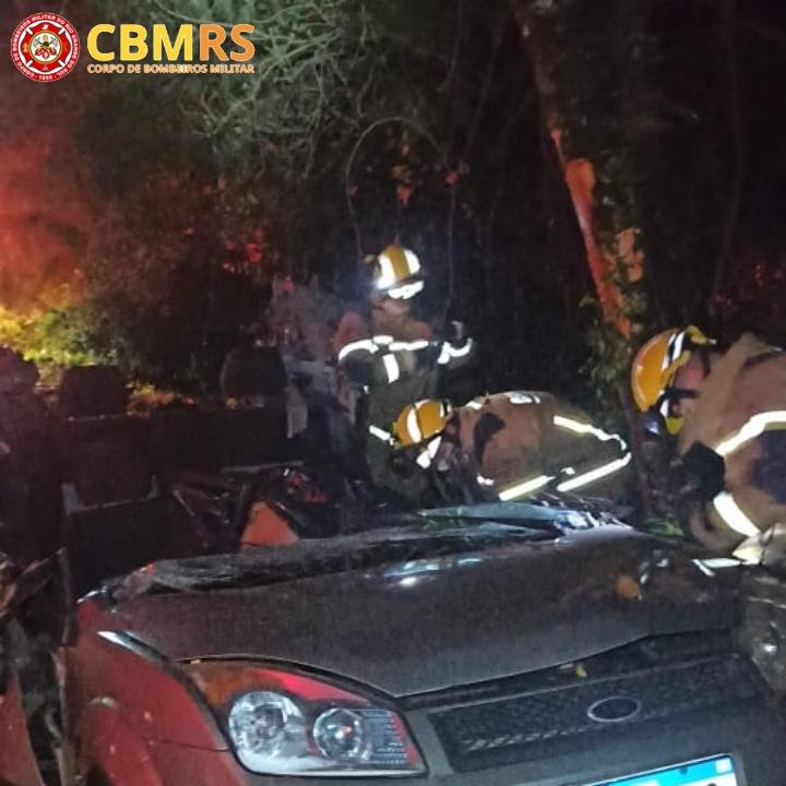 Homem morre em acidente na BR-470, em Nova Prata