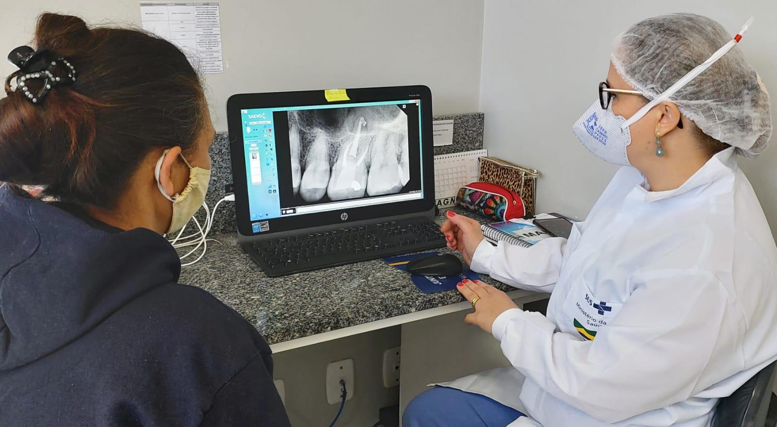 Saúde bucal para todos: CEO-BG utiliza equipamento de radiologia digital para realização de exames de imagem
