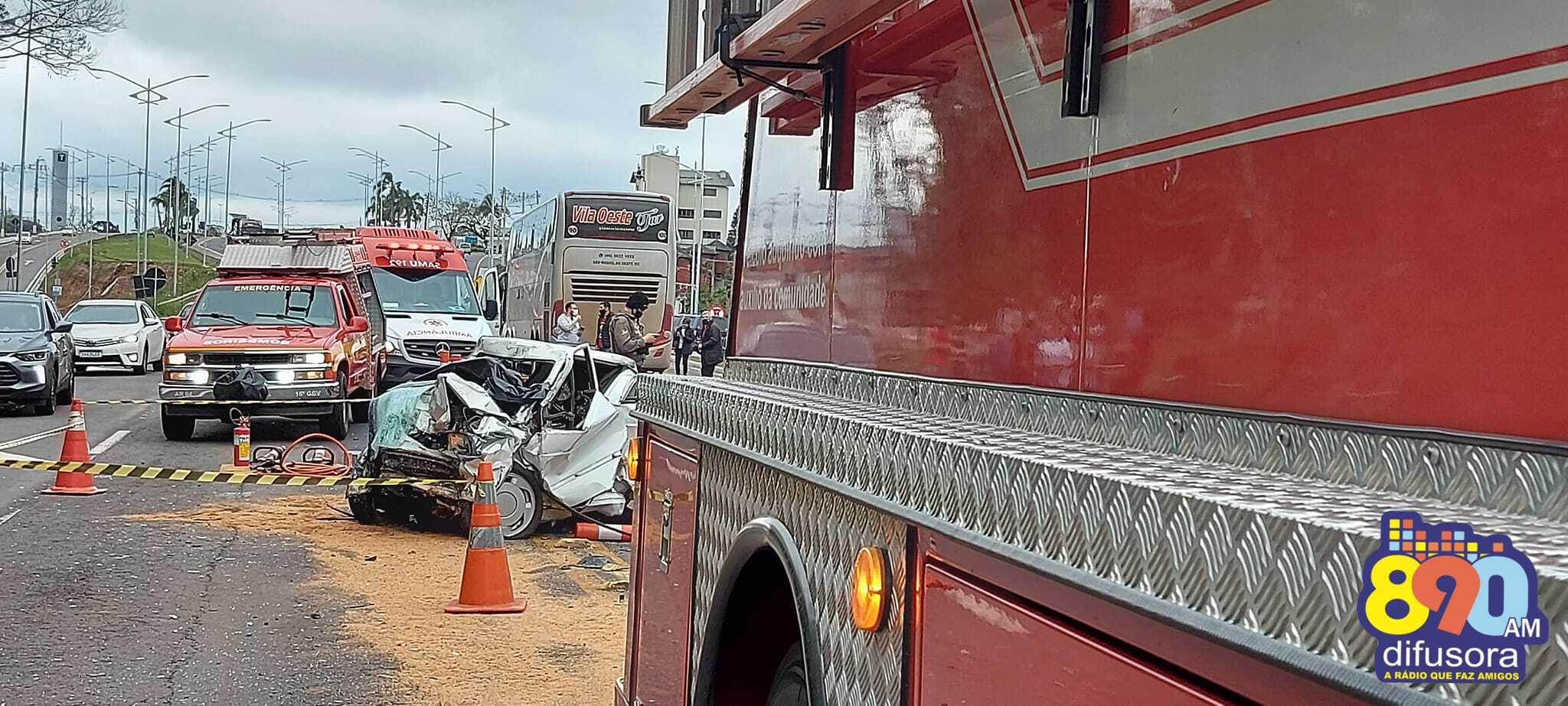 Identificada vítima de acidente na BR-470, em Carlos Barbosa