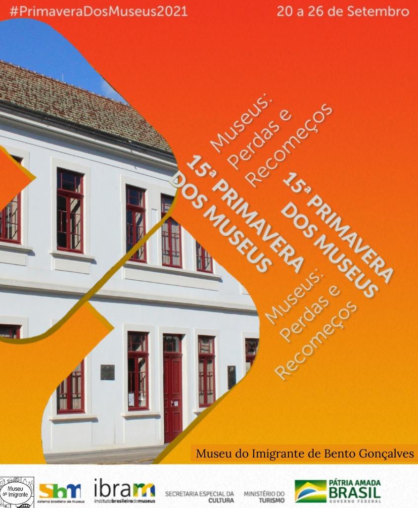 Museu do Imigrante divulga programação da 15ª Primavera dos Museus