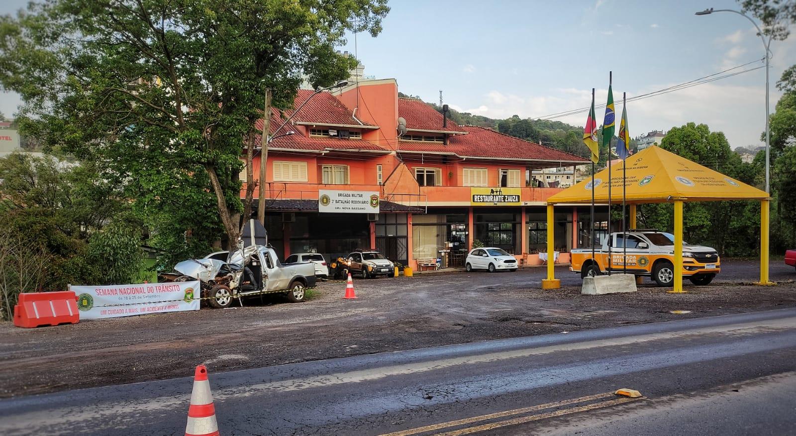 Nova Bassano: 3º BRBM inicia Semana Nacional do Trânsito